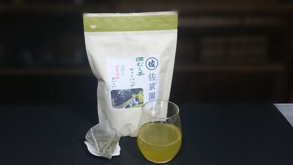 緑茶ティーバッグ5g大入り袋再販のお知らせ