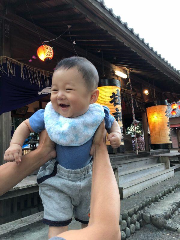 横岡八幡神社のお祭りに行ってきました。