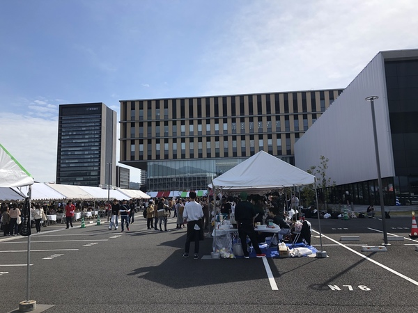 今日は、静岡常葉大学学祭出店