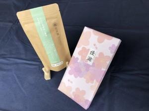ギフト箱 1袋用 包装紙ピンク