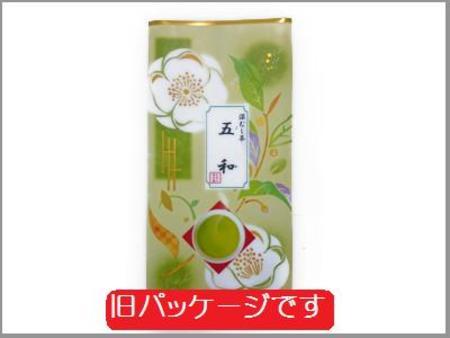深蒸し緑茶 茶園NO,6 「五和 (ごか)」100g