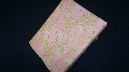 ギフト箱 包装紙ピンク のし御年賀 金粉付き